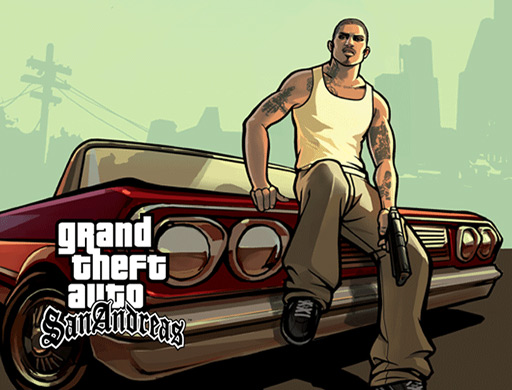 Artwork gta: san andreas