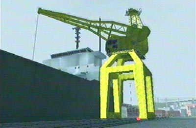 Vehicle Import Export crane