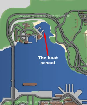 Boat School map