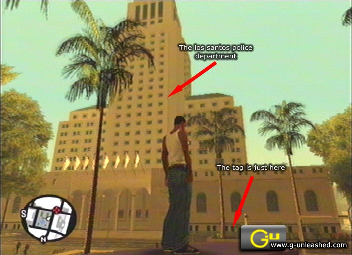 Los Santos Gang Tags 81-100 GTA: San Andreas