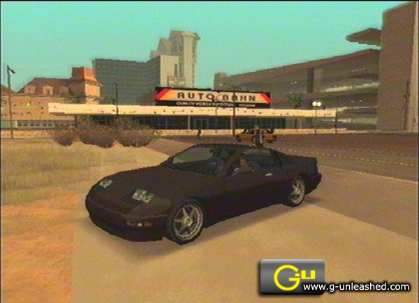 grand theft auto san andreas cars location