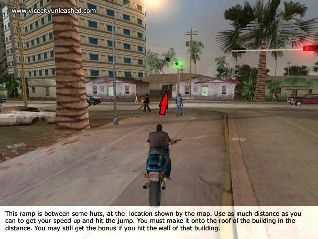 Unique Jumps GTA Vice City
