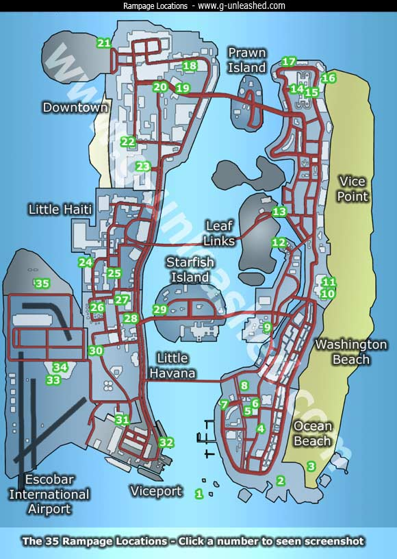 8d29f962e08b Rampages GTA  Vice City