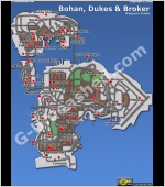 Weapons Guide Locations Gta Iv