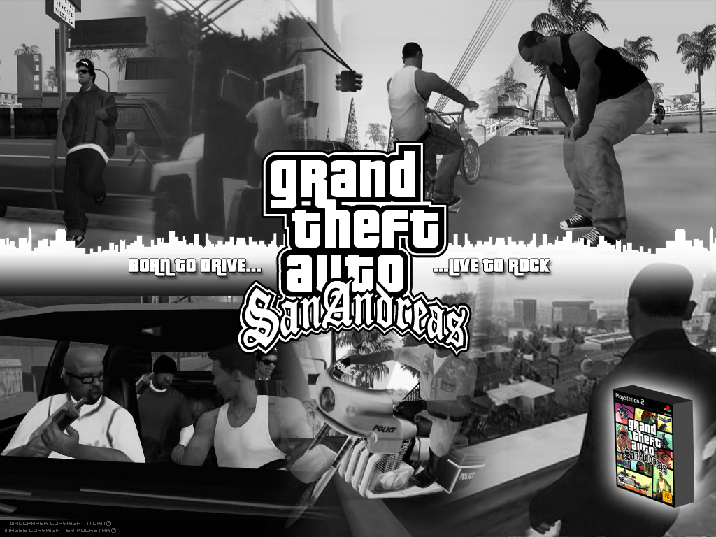 CreepyPasta: GTA San Andreas Black Edition