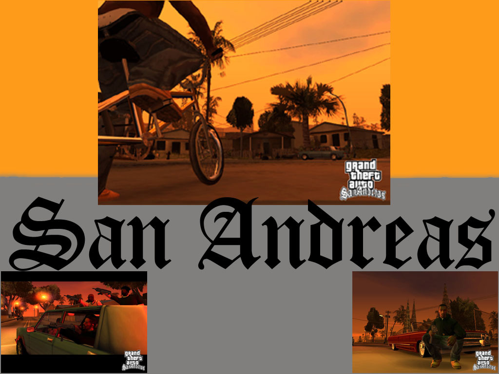 San Andreas Collage